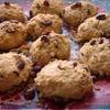 Домашнее печенье с клюквой в овсяной панировке