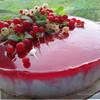 "Торт суфле"" Красное с белым"""