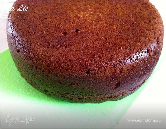"""Celine Chocolate Sponge Cake With Espresso (Шоколадный бисквит с эспрессо """"Celine"""")"""