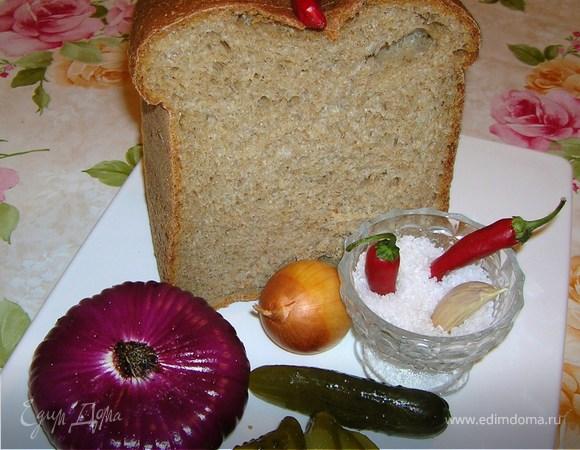 """Домашний """"серый"""" хлеб"""