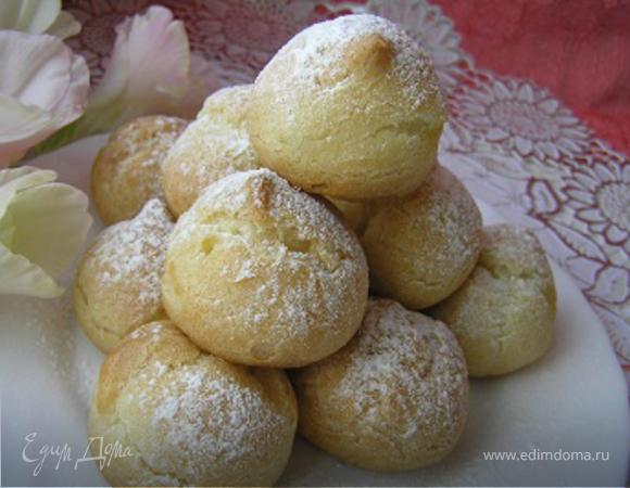 Профитроли с лимонным кремом