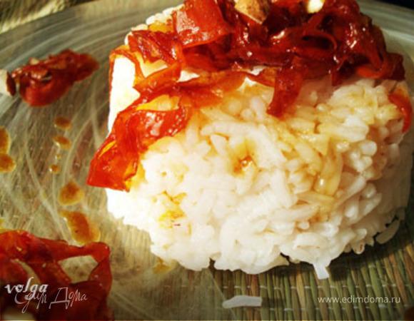 Карамелизированная морковь с рисом