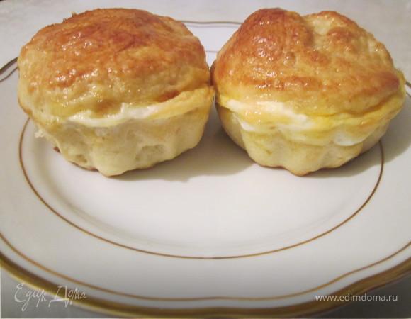 Пирожки с кабачком и сыром
