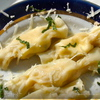 Caramelle, formaggio e menta.