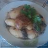 Жаркое из курицы с картофелем и баклажанами.