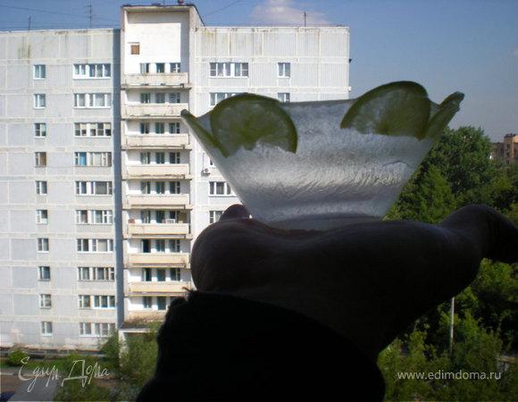 Ледяная тарелка для окрошки