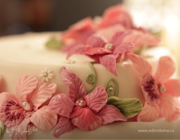 """Торт """"Орхидеи"""""""