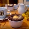 Груши в шоколадном кексе