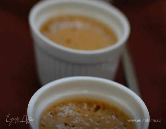 Кофейный крем-десерт.