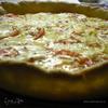 Пирог с помидорами и сыром