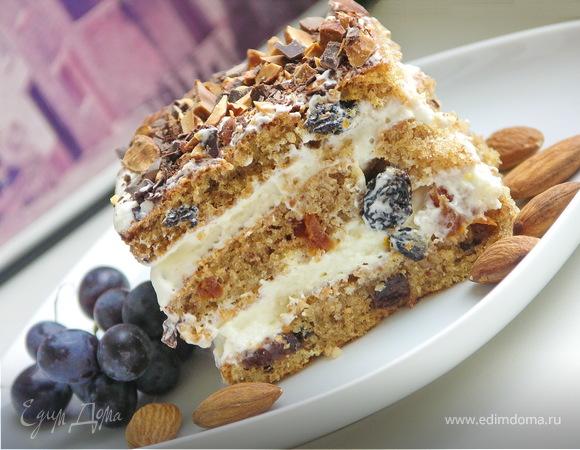 """Торт """"Южный сад"""""""