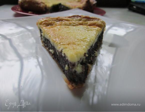 Нежный пирог с маком