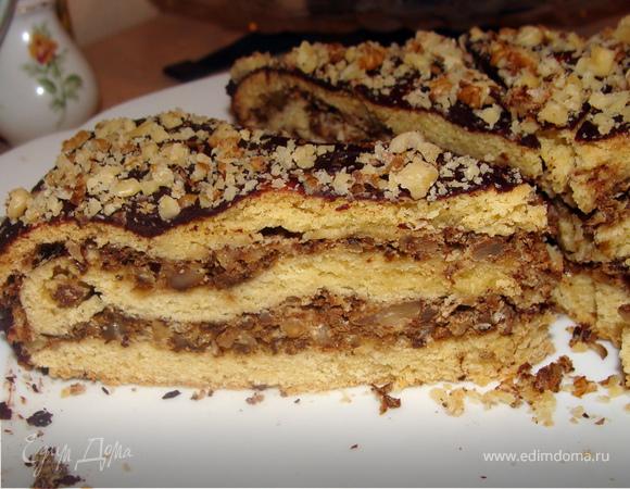 Ореховый пирог из детства