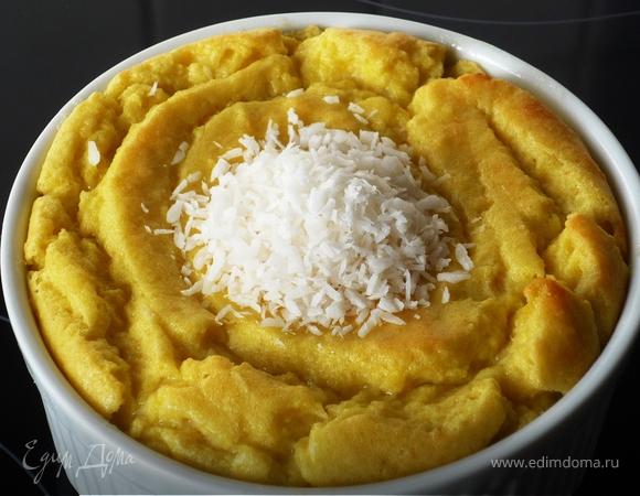 Нежное мангово-кокосовое суфле