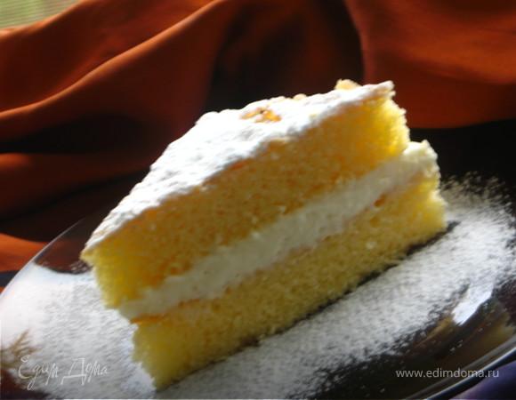 Нежнейшее детское пирожное