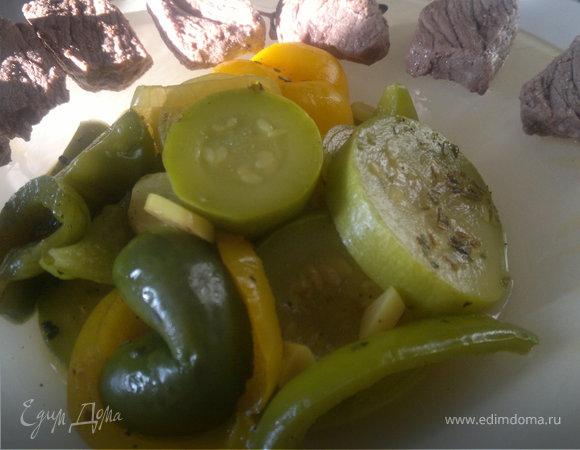Отварная говядина ( тающая нежность и нечеловеческая острота ) и овощи баланс