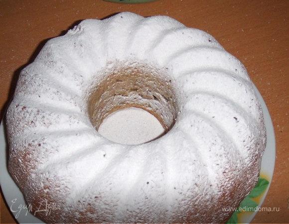 Кекс с корицей и грецкими орехами