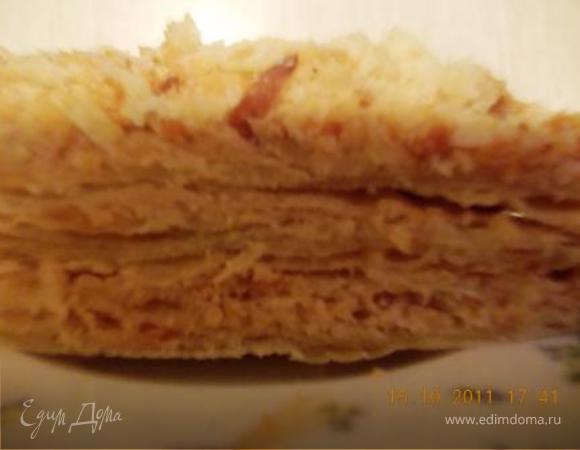 """Торт """"Наполеон"""", почти как у мамы"""