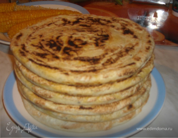 Мелуи, домашний хлеб из манки.