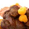 + Печень-гриль с инжирно-малиновым соусом