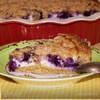 Творожно-овсяный пирог с ягодой