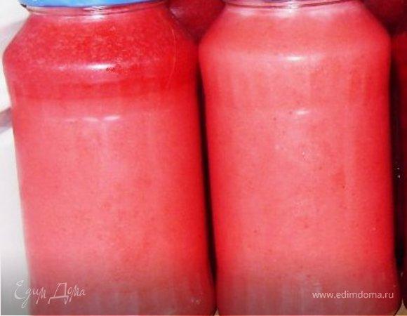 Желе из садовых ягод