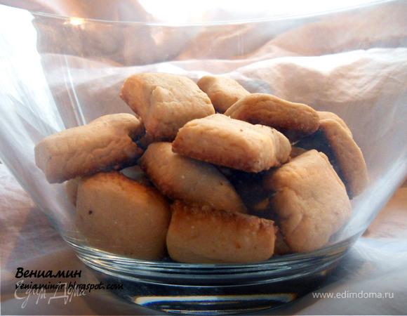 Pebbernodder - датское рождественское печенье (вариант)