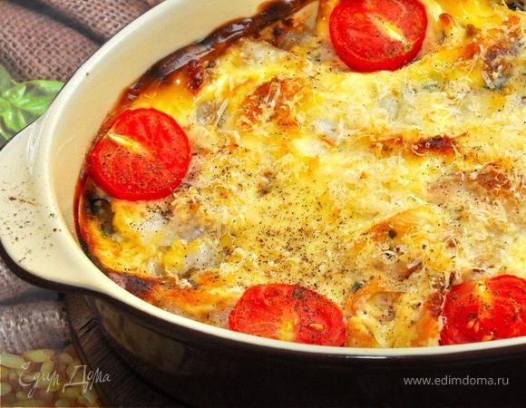 Кассероль из морепродуктов (Seafood Casserole).
