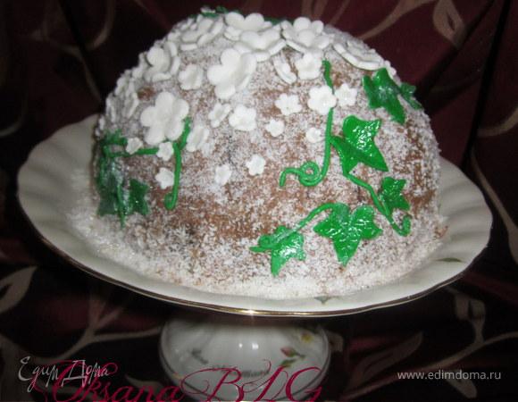"Торт ""Купол"" он же ""Цуккотто"" для alexmay"