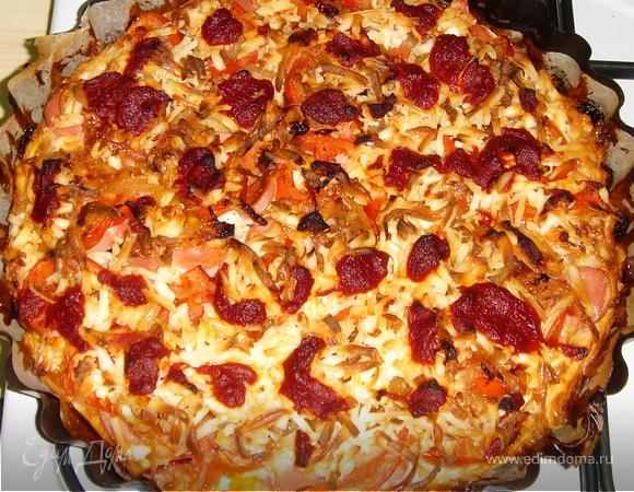 PIZZA ))) Домашняя и очень сочно-вкусная!