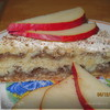 """""""Ленивый"""" пирог с грушами"""