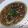 Ароматный грибной суп (из сушеных грибов)