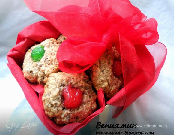 Tescoma.Рождественское овсяное печенье