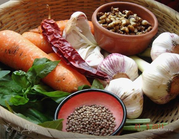 Пхали из моркови