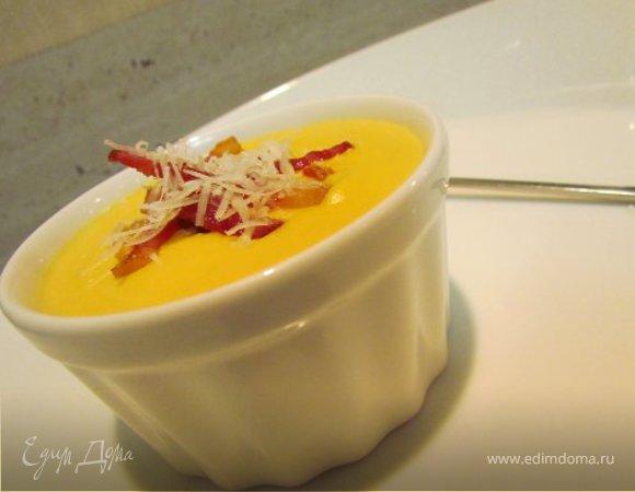 Крем-суп сырно-овощной