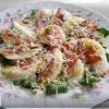 Салат с грушами и хамоном
