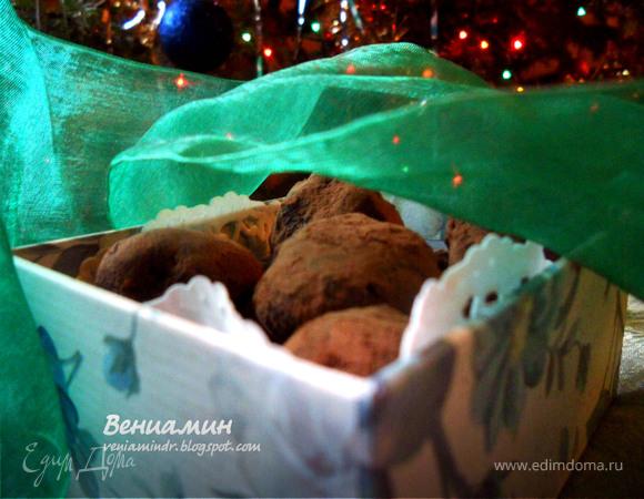 Мятные трюфели