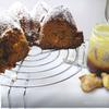 Пряный тыквенный кекс с орехами