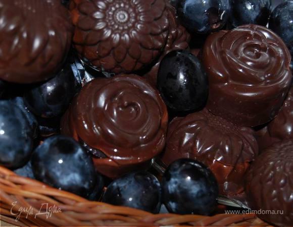 Конфеты с виноградом