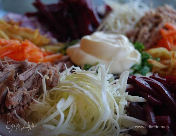 Салат по татарски рецепт