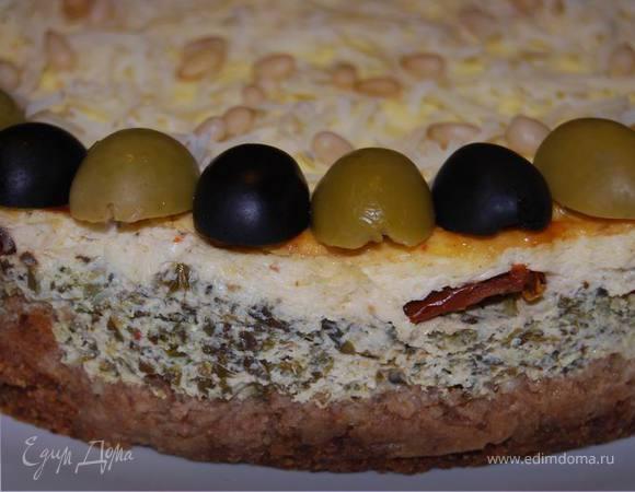 Пряный чизкейк (Spiced cheesecake)