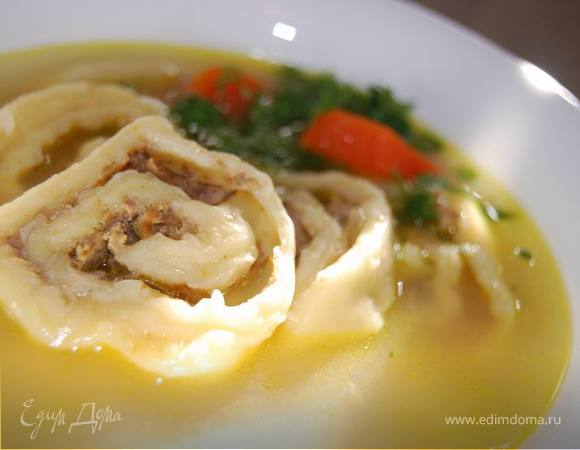 Суп с гнездами