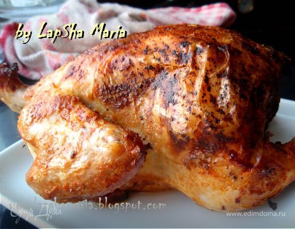 Цыплята, запеченные в йогурте с паприкой и чесноком