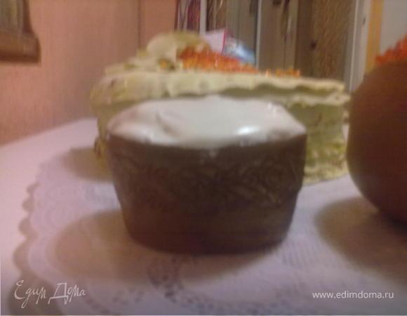"""Торт """"Стопка блинов"""";-)все съедобно, тарелки тоже"""