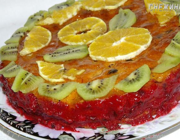 Торт «Весенняя сказка» (постный)