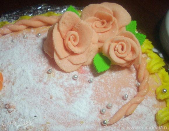 Шоколадный торт к 8 Марта