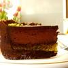 Шоколадно-фисташковый торт