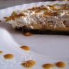 Сливочно-миндальный десерт на прянике