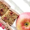 Пирог цельнозерновой с яблоком, корицей и вишней
