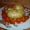 Молодой Картофель с чесночно-укропным маслом